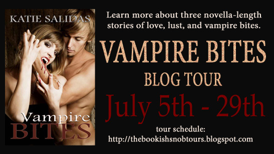 Vampire Bites Blog Tour, Guest Post, & Giveaway