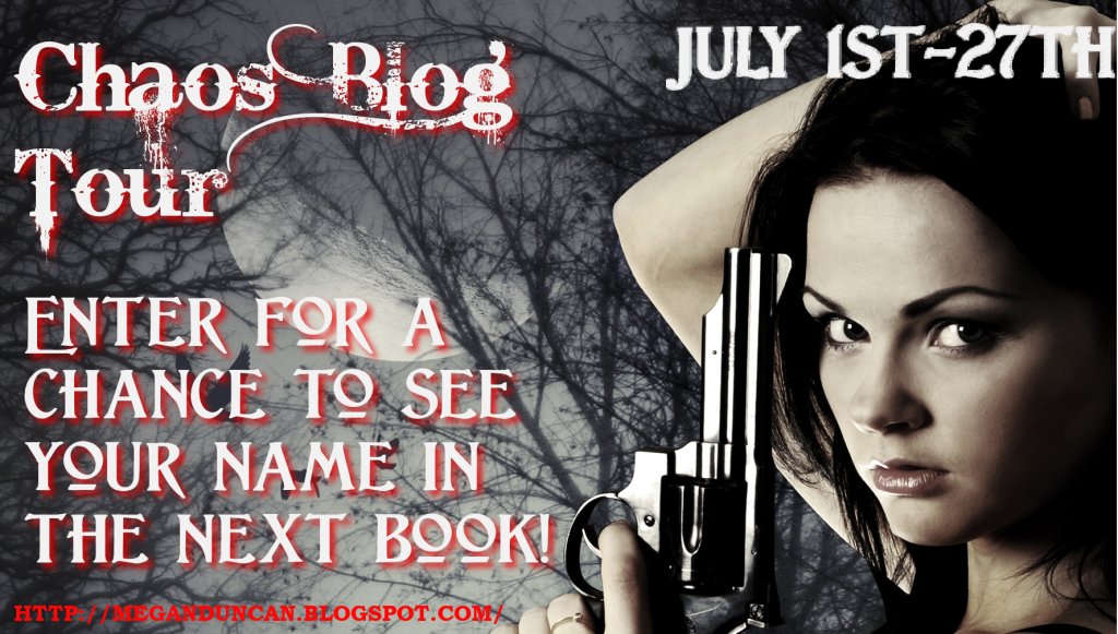 Chaos Blog Tour, Giveaway, & Contest