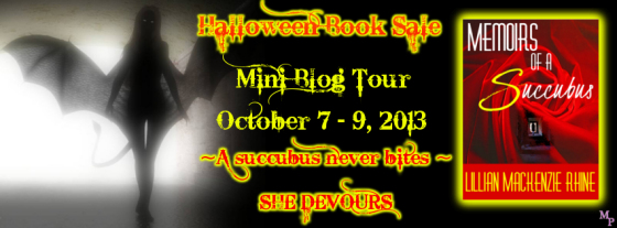 Memoirs of a Succubus Blog Tour