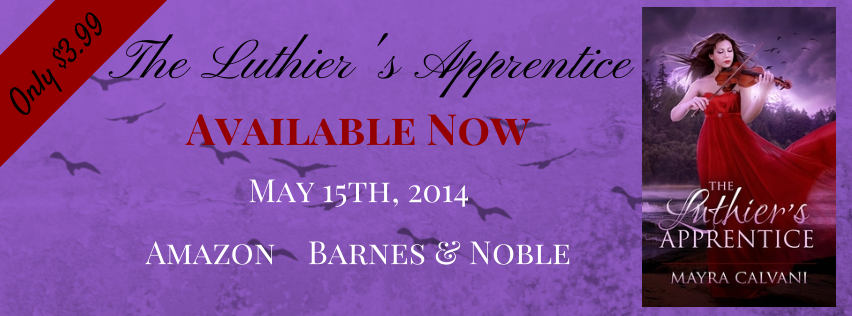 The Luthier's Apprentice Book Tour