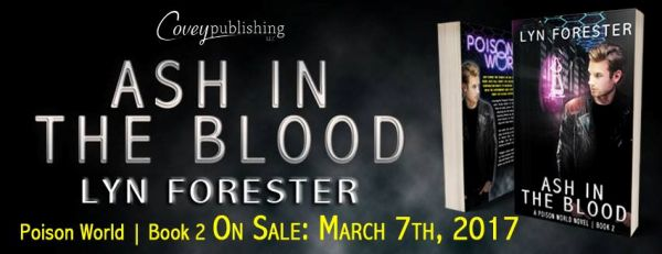 Ash in the Blood Book Tour