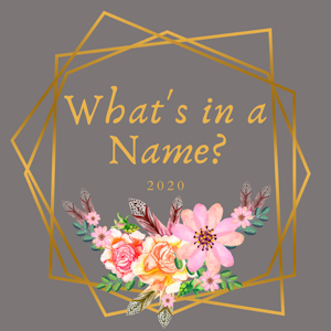 2020 What's In A Name Reading Challenge