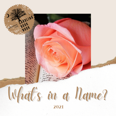 2021 What's In A Name Reading Challenge